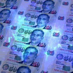 Counterfeit Singapore dollar for sale